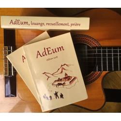 Carnet de chants chrétiens AdEum