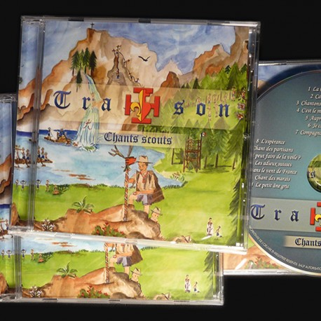 CD de chants scouts Tra-son